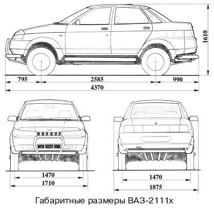 Фото №8 - ВАЗ 2110 технические характеристики